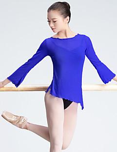 Ballet Dames Optreden Tule Lange Mouw Topjes