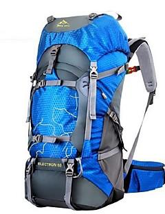 60 L Wandern Tagesrucksäcke Rucksäcke Wandern Camping Skilanglauf Windundurchlässig tragbar Atmungsaktivität Leicht Nylon 丰途