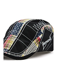 cheap Men's Hats-Men's Active / Windproof Beret Hat / Floppy Hat - Patchwork Embroidered