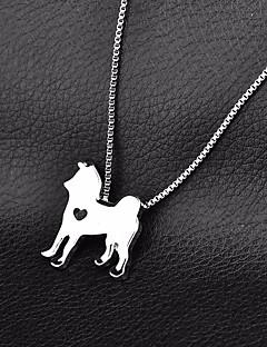 billiga Hundkläder-Hund Halsband Hundkläder Enfärgad Guld Silver Krom Kostym För husdjur Ledigt/vardag
