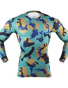 billige Løbetøj-Arsuxeo Herre Løbe-T-shirt Sport Yoga, Boksning, Træning & Fitness Letvægt, Hurtigtørrende, Reducerer gnavesår