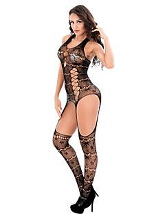 abordables -Costumes Vêtement de nuit Femme,Sexy Dentelle Jacquard Polyester Spandex