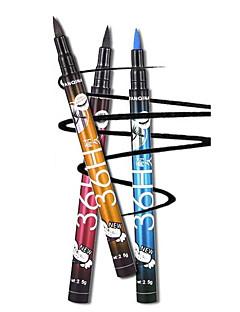 1kpl vedenpitävä eyeliner kynä muodostavat kauneus silmänympärysvoide kynä kosmetiikka monivärinen