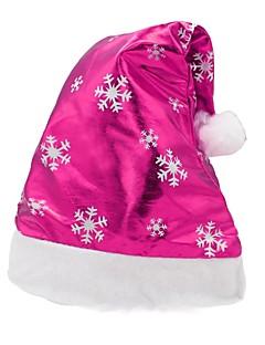 billige julen Kostymer-Ferie Nisse drakter Julehue Fuksia Klut Denim Cosplay-tilbehør Jul