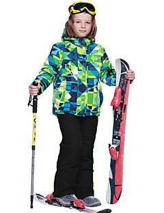 Phibee 男の子 スキージャケット&パンツ ウォーム 速乾性 防水 保温 防風 防雨 耐久性 ウィンタースポーツ 通気性 耐紫外線 スキー ポリエステル