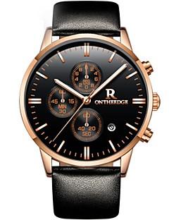 Herrn Uhren Etuis Armbanduhren für den Alltag Sportuhr Modeuhr Kleideruhr Armbanduhr Chinesisch Quartz Kalender Chronograph Wasserdicht