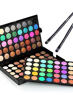 preiswerte -120 Lidschatten Make-up Pinsel Trocken Matt Schimmer Lang anhaltend