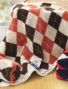Frisse stijl Handdoek,Geruit Superieure kwaliteit Puur Katoen Handdoek
