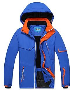 Phibee Муж. Лыжная куртка Теплый Водонепроницаемость С защитой от ветра Пригодно для носки Антистатический Воздухопроницаемость Катание