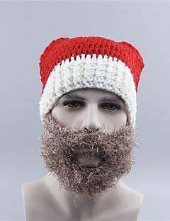 billige julen Kostymer-Nisse drakter Hatter Grå Festet Cosplay-tilbehør Jul