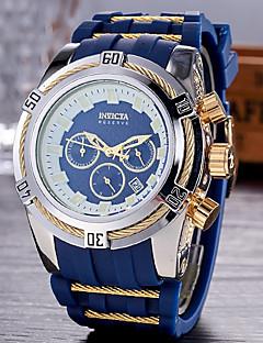 preiswerte Kinderuhren-Herrn Kinder Kleideruhr Modeuhr Sportuhr Japanisch Quartz Kalender Chronograph Wasserdicht Armbanduhren für den Alltag Silikon Band