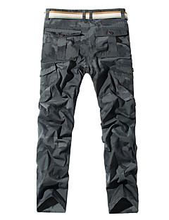 Pánské Kargo kalhoty Outdoor Nositelný Cross Country Back Country Fitness Zima Kalhoty Venkovní cvičení Multisport