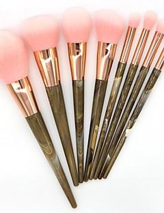 billige Sminkebørstesett-8pcs Makeup børster Profesjonell Børstesett / Rougebørste / Øyenskyggebørste Nylon Børste / Syntetisk hår / Andre Profesjonell / Myk /