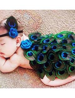 ieftine Îmbrăcăminte La Modă De Copii-Bebelus Unisex Set Îmbrăcăminte Imprimeu Bumbac Zilnic Toate Sezoanele Fără manșon Simplu Trifoi