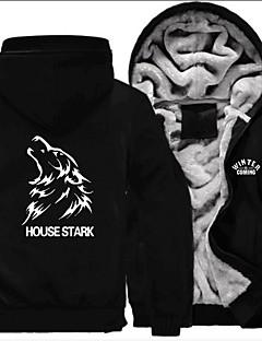 cheap -House Stark Ugly Christmas Sweater / Sweatshirt Men's Festival / Holiday Halloween Costumes White White Letter Euramerican