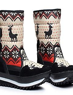 女性用 スノーブーツ 冬用ブーツ 繊維 ウィンタースポーツ アンチスリップ 冬