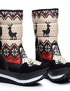 cheap Snow Hiking Boots-Women's Snow Boots Winter Sports Fabric Winter Anti-Slip