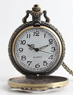 billige Luksus Ure-Herre Quartz Lommeure Legering Bånd Luksus Bronze