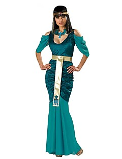 Cleopatra Ancient Egypt Costume Womenu0027s Dress Masquerade Party Costume Green Vintage Cosplay Cotton Short Sleeves Cold Shoulder Ankle  sc 1 st  LightInTheBox & Cleopatra Historical u0026 Vintage Costumes Search LightInTheBox
