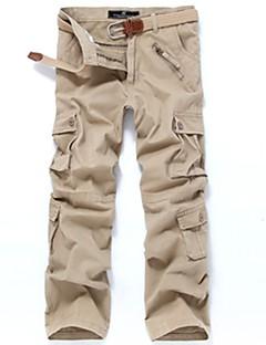 baratos Calças e Shorts para Trilhas-Homens Calças Cargo Ao ar livre A Prova de Vento, Vestível Inverno Calças Multi-Esporte