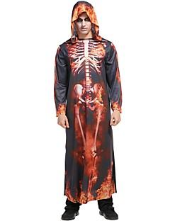 billige Halloweenkostymer-Kostume Herre Kostume Regnbue Vintage Cosplay polyester Langermet Biskop Underbukser