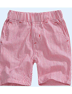 billige Drengebukser-Drenge Shorts Damask Sommer Blå Rød Grå