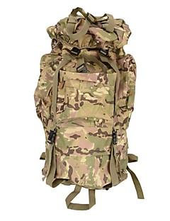 billiga Ryggsäckar och väskor-80L Ryggsäckar / Ryggsäck / ryggsäck - Backcountry, Bergsklättring, Resor Camping, Utomhusträning - Svart, Grön, Kamoflage
