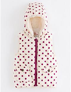 tanie Odzież dla dziewczynek-Tanktop / koszulka na ramiączkach Poliester Dla dziewczynek Groszki Zima Blushing Pink