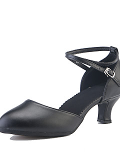 hesapli -Kadın Modern Tüylü Topuklular Spor Ayakkabı Dış Mekan Fırfırlı Kırma Dantelli Işıltılı Pullu Dantel Küba Topuk Kırmızı Şarap Siyah Gümüş