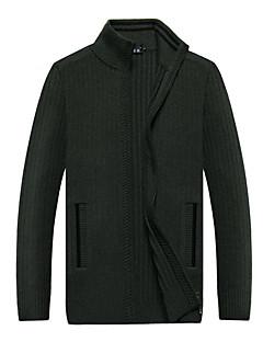 tanie Męskie swetry i swetry rozpinane-Męskie Impreza Golf Kaszmirowy Solid Color