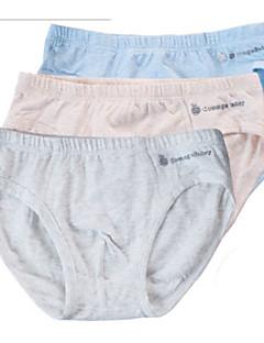 billige Undertøj og sokker til drenge-Drenge Undertøj Ensfarvet Stribet, Bomuld Alle årstider Simple Mikroelastisk Grå