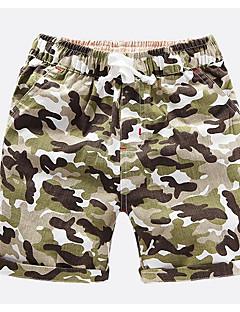 זול בגדים לילדים-שורטים אביב קיץ להסוות בנים פול תלתן כתום צהוב ירוק צבא