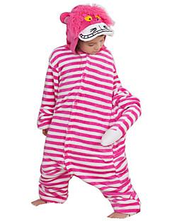 billige Kigurumi-Kigurumi-pysjamas Anime Tegneserie Onesie-pysjamas Kostume Flanell Fleece Rose Cosplay Til Barne Voksne Pysjamas med dyremotiv Tegnefilm