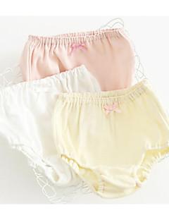 billige Undertøj og sokker til piger-Pige Undertøj Ensfarvet, Bomuld Alle årstider Mikroelastisk Lyserød