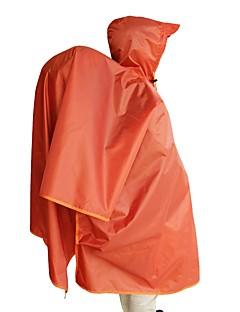 tanie Kurtki turystyczne i polary-Unisex Płaszcz przeciwdeszczowy Na wolnym powietrzu Ochrona przed deszczem Top Wodoodporny / Przecwideszczowy Ćwiczenia na zewnątrz