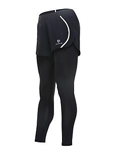 billiga Träning-, jogging- och yogakläder-Dam Tights för jogging - Orange, Grön, Grå sporter Cykling Tights / Leggings Sportkläder Snabb tork