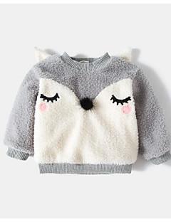 cheap Girls' Hoodies & Sweatshirts-Girls' Solid Hoodie & Sweatshirt, Cotton Bamboo Fiber Spring Short Sleeves Vintage Black Blushing Pink Gray
