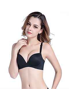 cheap Maternity Bras-Women's 3/4 Cup Bras Wireless Push-up - Solid