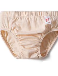 billige Undertøj og sokker til drenge-Drenge Undertøj Ensfarvet, Bomuld Alle årstider Mikroelastisk Grøn Hvid Gul