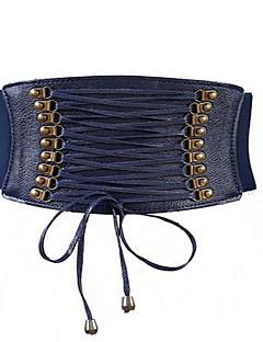 billige Trendy belter-Dame Aktiv / Grunnleggende Smalt belte - Blondér, Ensfarget Tøy