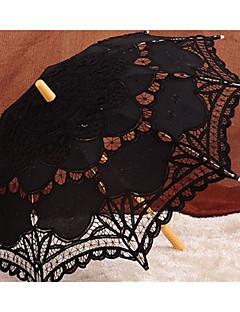 billige Bryllupsbutikken-paraply med dusker bryllup favoriserer klassisk tema