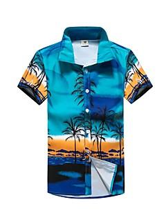 billige Herremote og klær-Skjorte - Geometrisk Sport Herre