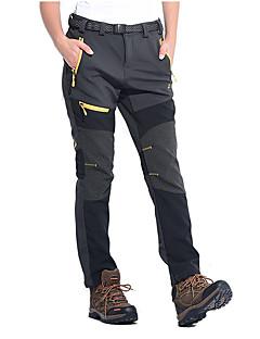 tanie Odzież turystyczna-Damskie Turistické kalhoty Na wolnym powietrzu Wodoodporny Keep Warm Wiatroodporna Izolacja Rain-Proof Zdatny do noszenia Oddychający