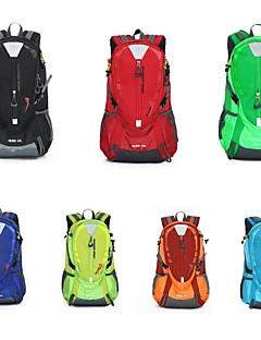 cheap Backpacks & Bags-40 L Rucksack Sports & Leisure Bag Hiking & Backpacking Pack Hiking Outdoor Exercise Waterproof Zipper Travel Mountaineering Nylon