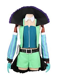 """billige Anime cosplay-Inspirert av Programmene Frontier Cosplay Anime  """"Cosplay-kostymer"""" Cosplay Klær Annen Langermet Frakk / Topp / Bukser Til Herre / Dame Halloween-kostymer"""