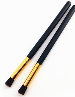 billiga Sminkborstar-2pcs Makeupborstar Professionell Ögonskuggsborste Nylonborste Professionell / Mjuk Mellanborste