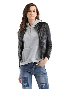 cheap Women's Downs & Parkas-Women's Simple Casual Padded - Solid Color