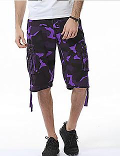 billige Herrebukser og -shorts-Herre Enkel Harem Bukser Fargeblokk