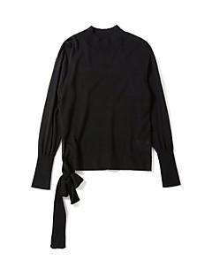 tanie Swetry damskie-Damskie Długi Kaszmirowy Jendolity kolor Długi rękaw