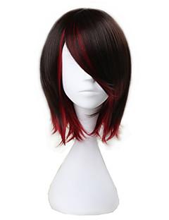 cheap Anime Cosplay Wigs-Cosplay Wigs RWBY Ruby Anime Cosplay Wigs 37cm CM Heat Resistant Fiber Men's Women's